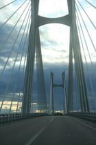 Le pont à haubans entre Beaucaire et Tarascon