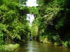 Le pont des Brûlés au dessus du Canal