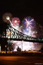 Le pont Jacques-Cartier de mille éclats!