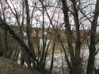 Le pont vieux en hiver