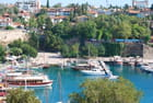 Le port d'Antalya