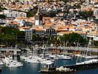 le port de plaisance de Funchal