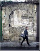 Le portail muré