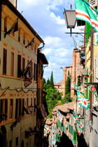 Le quartier de l'Oie à Sienne