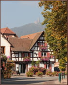 Le Ramstein vu depuis Scherwiller