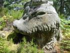 Le rocher-monstre de la forêt