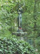 La statue du square de Miliana