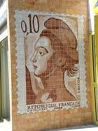 Le timbre de La Poste de Cadenet