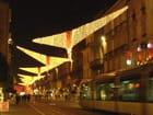 Le tram dans la nuit de décembre