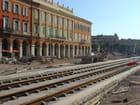 Le Tramway de Nice en travaux