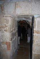 le tunnel de l'église de la Nativité