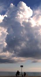 Le vieil homme et le nuage