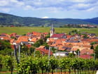 Le village de Beblenheim en Alsace