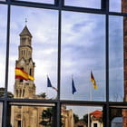 Lège Cap Ferret, mairie et clocher