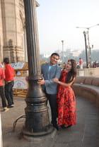 les amoureux de la porte de l'Inde