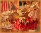 Les anges du marché de Noël.