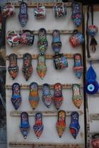 Les babouches de décoration