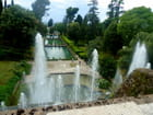 les bassins des jardins de la villa d'Este