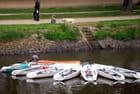 les bateaux sur le canal