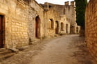 Les Baux de Provence en fin d'après midi
