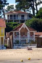 les belles maisons du bord du Bassin d'Arcachon