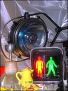 Les bonshommes lumineux de signalisation