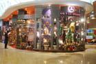 les boutiques de l'aéroport de Bombay