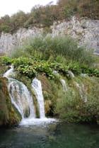 les cascades du Parc National de Plitvice