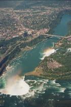 Les chutes (US et Canadiennes)