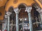 Les colonnes à Sainte Sophie
