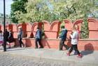 les créneaux des murs du Kremlin