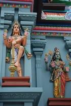 les déesses du Temple Tamoul