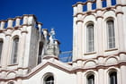 les deux tours de l'église de Salazie