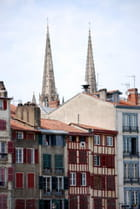 les façades à Bayonne