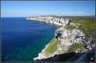 Les falaises de Bonifacio...