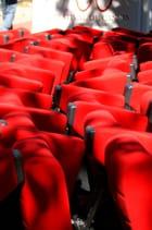 Les fauteuils sont rempilés