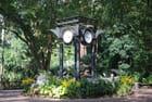 les horloges du jardin botanique