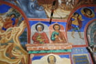 les peintures de l'église du Prophèrte Eli à Yaroslavl