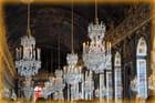 Les lustres à Versailles