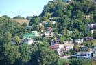 les maisons sur la colline