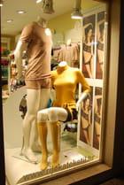 les mannequins dans la vitrine
