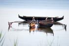 les nouveaux bateaux sur le lac