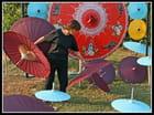 Les ombrelles.