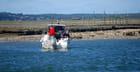 les pêcheurs en bateau