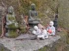 Les petits bouddhas de Gyeongbok-sa