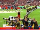 Les photographes photographiés à la cérémonie d\'ouverture de la coupe du monde de Rugby