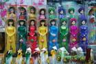 les poupées asiatiques
