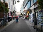 les rues commerçantes du centre ville de Bagnères de Bigorre