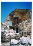 Les ruines du palais