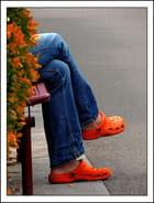 Les sabots oranges...MM